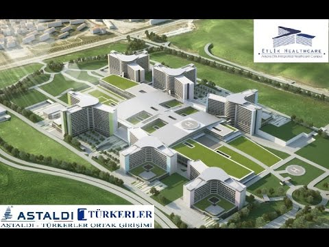 TRT Anahtar, March 2017, Etlik Integrated Health Campus Project, ANKARA.