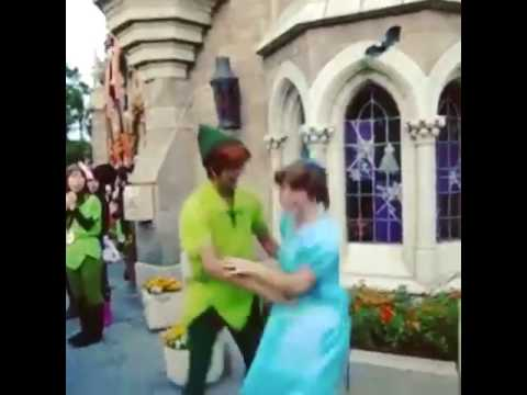 Peter Pan & Wendy Dancing together - YouTube