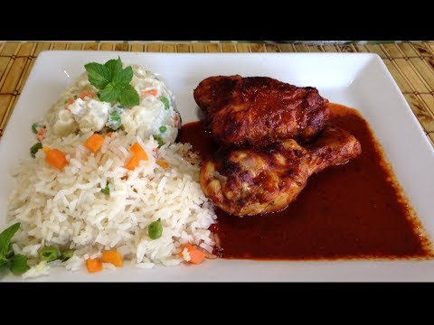 Pollo en adobo receta deliciosa youtube - Adobo de alitas de pollo ...