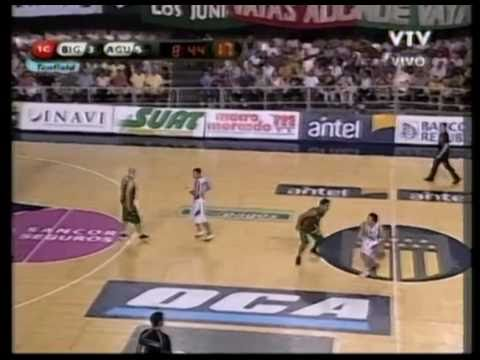 Michael Sweetney, 1st Qtr (pt1) - (Atletico Biguá) - 02-17-11