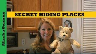 Secret Hiding Places - Where To Hide Things