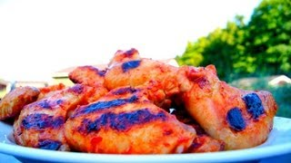 Recipe For Sweet Chicken Wings Drunken With Vodka Lemon And Coca Cola - Easy How To Marinade Video