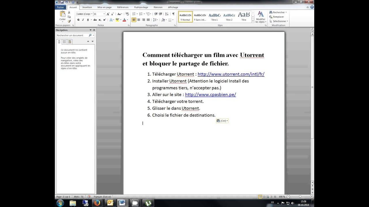 comment telecharger des films utorrent