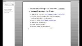 Comment Télécharger un film et bloquer les partages du film ( gratuit )