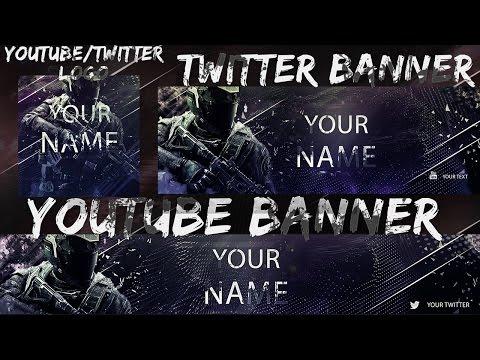 free-infinite-warfare-youtubetwitter-banner-and-logo-download-in-desc