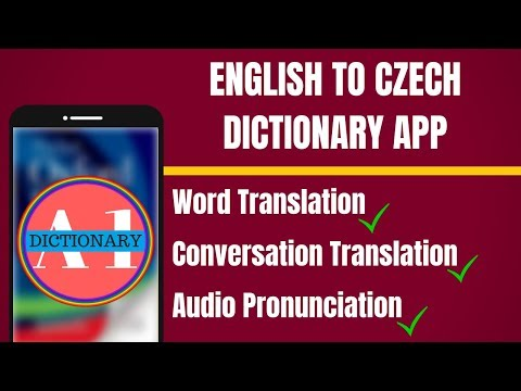 English To Czech Dictionary App | English to Czech Translation App