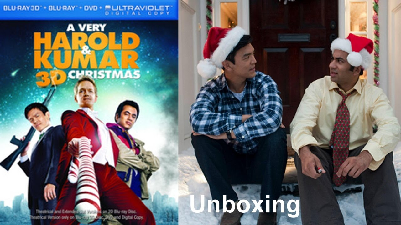 A Very Harold & Kumar 3D Christmas Blu-ray/DVD Unboxing - (2011 ...