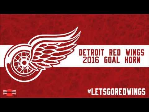 Detroit Red Wings 2016 Goal Horn