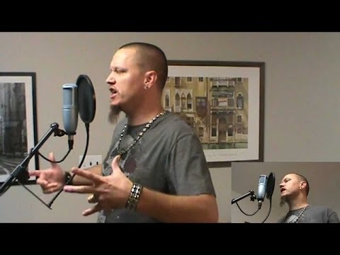 Disturbed - Another Way To Die - Vocal Cover by David Lyon with Lyrics