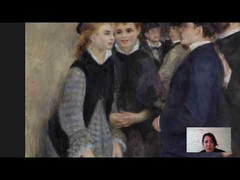 Barnes Takeout: Art Talk On Pierre-Auguste Renoir's Leaving The Conservatory