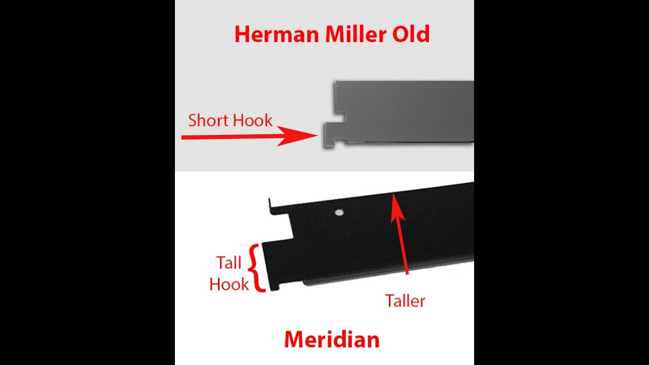 Meridian and Herman Miller Old Style File Cabinets