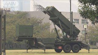 対北で新迎撃システム開発検討 独自に防空体制強化(19/12/29)