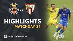 Highlights Villarreal CF vs Sevilla FC (2-2)