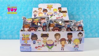 Disney Toy Story 4 Pixar Figural Bag Clip Full Set Opening | PSToyReviews