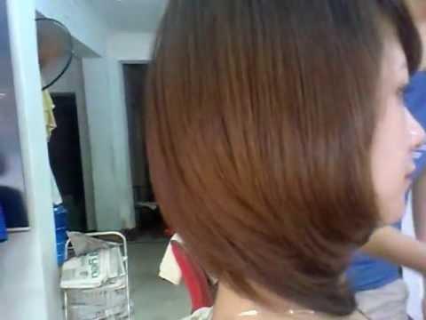 tóc ép cup phồng xu hướng toc thu đông 2012 hair salon CUONG NGUYEN 01647143103