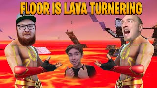 FLOOR IS LAVA TURNERING w/ Keebabb, Zaitr0s
