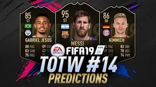 TOTW 14 Predictions FIFA 19 | IF Messi, IF Jesus, IF Shaqiri | TOTW 14 Prediction