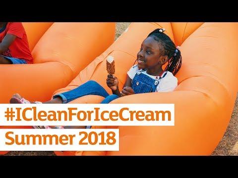#ICleanForIceCream | Summer 2018 | Sainsbury's