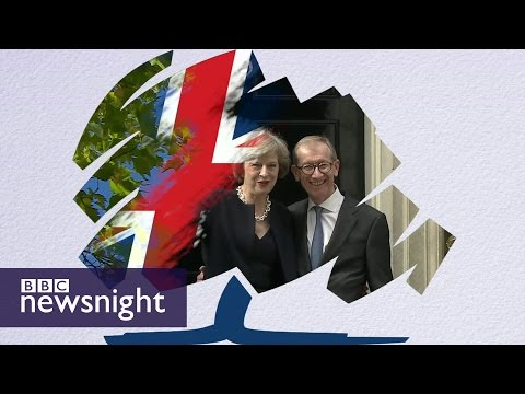 How is Theresa May different to David Cameron? - BBC Newsnight