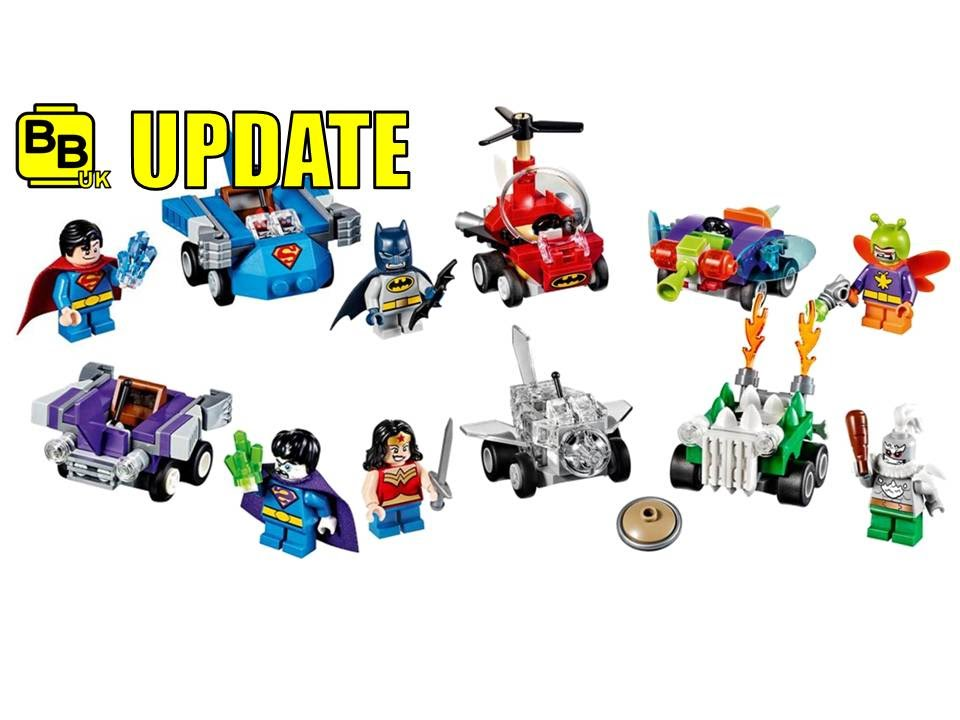 LEGO 2017 DC SUPERHEROES MIGHTY MICROS SETS UPDATE