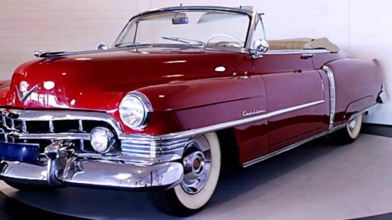Cadillac Series 62 Convertible, model year 1950 - YouTube