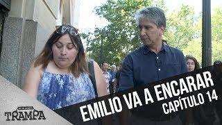 Emilio encara a la estafadora | En su Propia Trampa | Temporada 2017