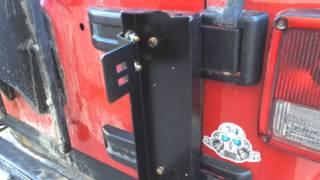 Off Road Evolution Hi Lift Mount Install