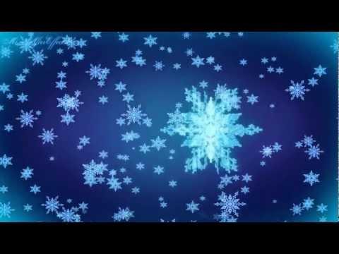 Видео Snowflakes fall