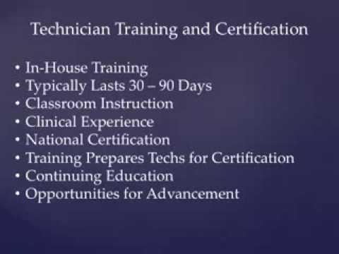 EKG Technician Career Path - YouTube