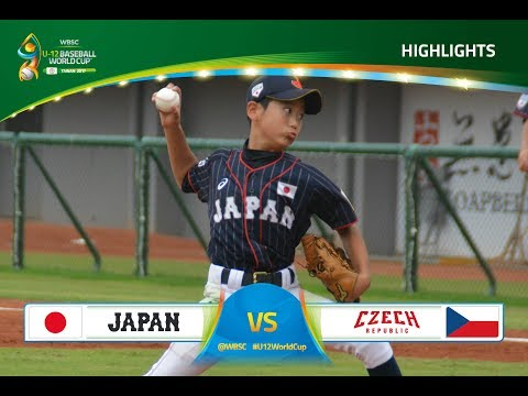 Highlights: Japan v Czech Republic - U-12 Baseball World Cup 2017