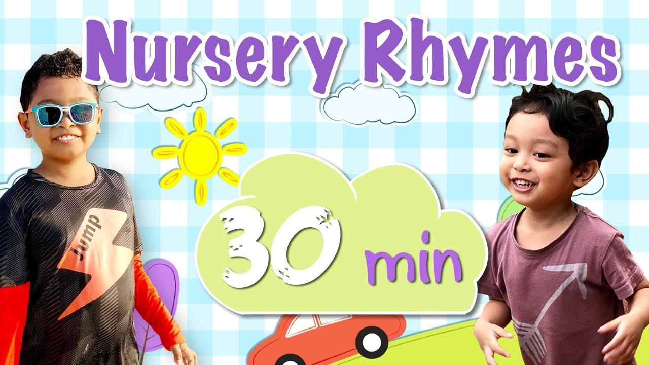 Nursery Rhymes   30 Mins   Hadiff And Hafiy