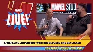 Writers Ben Blacker and Ben Acker Make a Splash at SDCC 2018