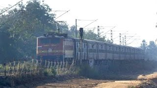 WAP 1 Hauls MAS SSPN SUPERFAST EXPRESS - Indian Railways