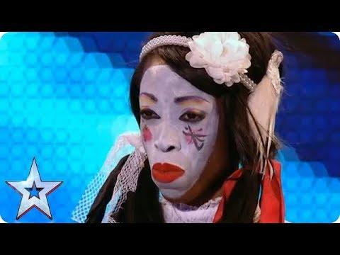 The CREEPIEST Humpty Dumpty You've Ever Heard | Britain's Got Talent
