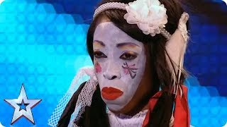 The CREEPIEST Humpty Dumpty You've Ever Heard | Britain's Got Talent