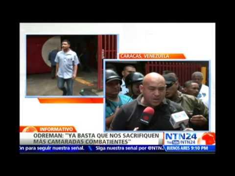 """""""Lo que me suceda es responsabilidad de Rodríguez Torres"""": Odreman a NTN24 una hora antes de morir"""
