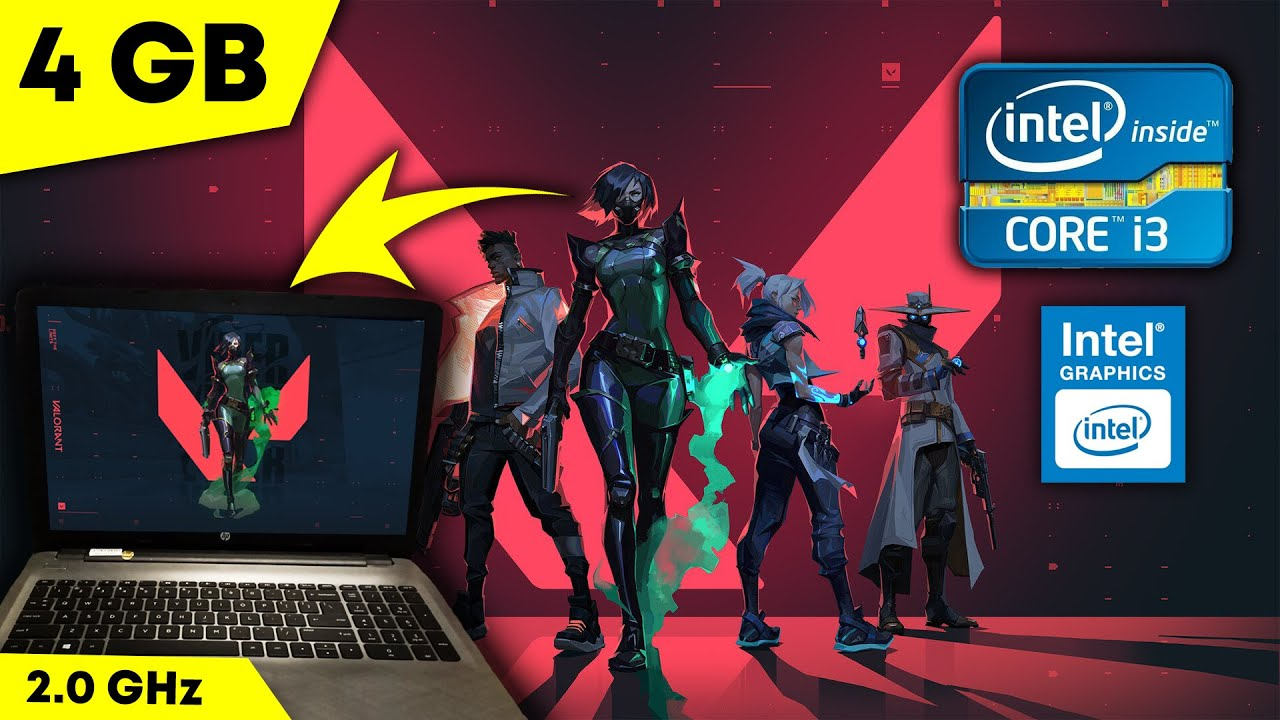 Download How To Play #Valorant in Low end PC [ intel core i3 , 2.0 GHz, 4GB RAM ]
