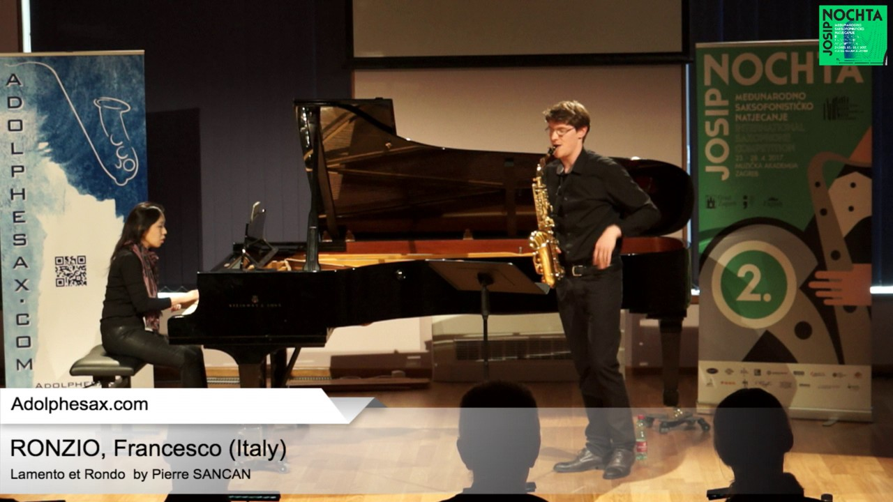 Lamento et Rondo by Pierre Sancan – RONZIO, Francesco Italy
