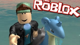 PLAYING POKEMON GO IN ROBLOX!! I CAUGHT A CHARIZARD!!