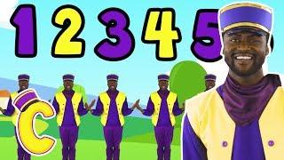 Choones The Train Driver Sings Number Train Song With Lyrics 🚋 Songs For Kids - New Nursery Rhymes