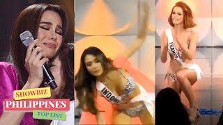 Shocking FAILS at MISS UNIVERSE 2019 Swimsuit Competition CATRIONA GRAY REACTION