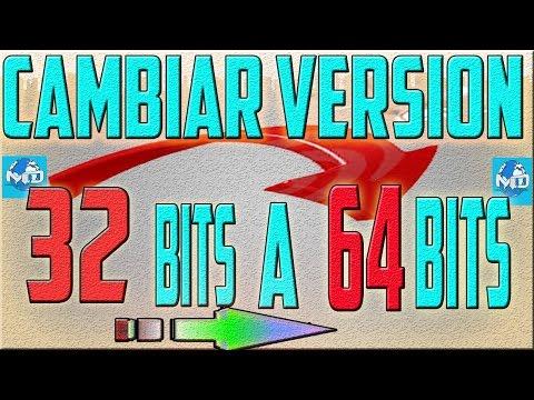 Como Cambiar El tipo de sistema operativo de 32 bits A 64 bits Gratis Tutorial  😣