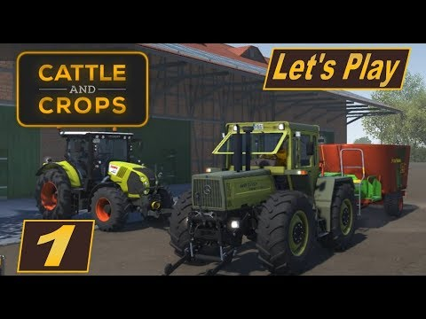 Cattle and Crops #1 #Early Access Version des neuen Landwirschaft Simlulators antesten #deutsch