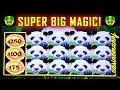 🐼 SUPER BIG WIN!!! 🐼- PANDA MAGIC SLOT! - That's a LOTTA 🐼🐼🐼 PANDAS! - Slot Machine Bonus