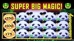 🐼 SUPER BIG WIN!!! 🐼- PANDA MAGIC SLOT! - That's a LOTTA 🐼🐼🐼 PANDAS! - Slot Machine Bonus