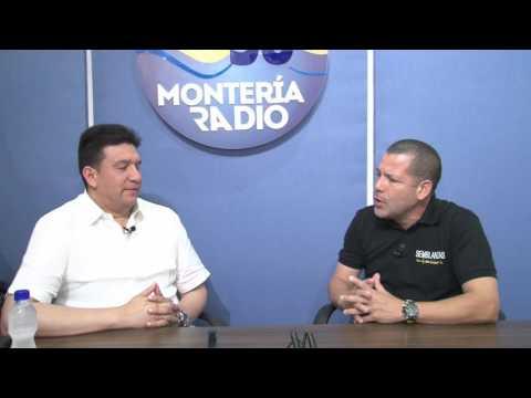 Entrevista a Edwar Cobos Tellez concedida a Montería Radio 38 Grados, el 25 de Febrero de 2016