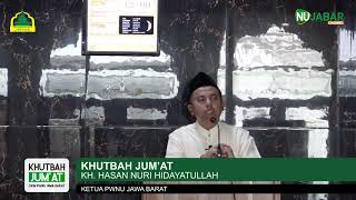 Video [KHUTBAH JUM'AT] KH. Hasan Nuri Hidayatullah download MP3, 3GP, MP4, WEBM, AVI, FLV November 2019