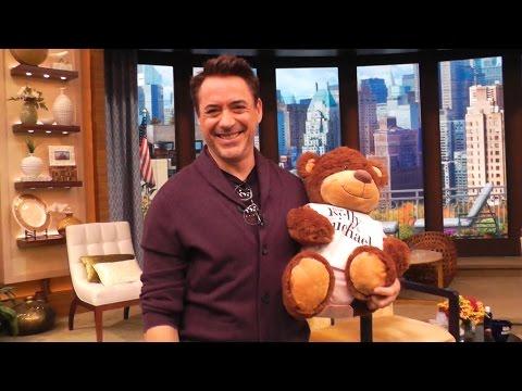 Robert Downey Jr. Baby Girl Gift