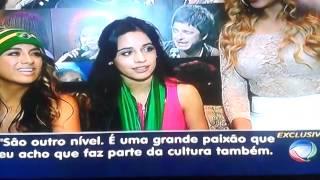 Entrevista de Fifth Harmony no Balanço Geral