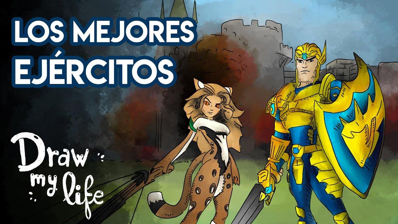 Los EJÉRCITOS más TEMIBLES de la HISTORIA | Draw My Life